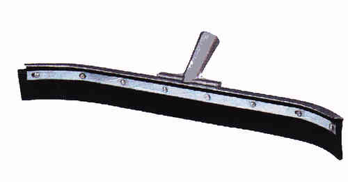 "24"" Curved Squeegee Head w/ Handle"
