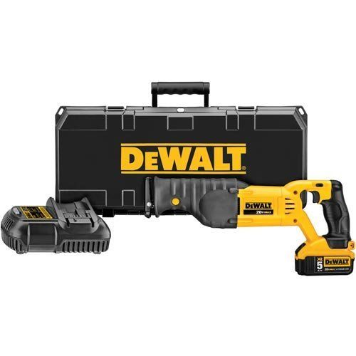 DEWALT DCS380P1 20V MAX Lithium Ion Reciprocating Saw Kit