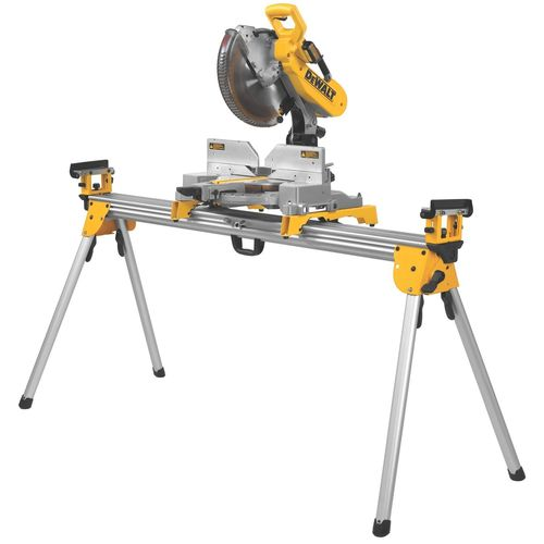DEWALT DWS780 12-Inch Double Bevel Sliding Compound Miter Saw with BONUS Miter Saw Stand (DWX723)