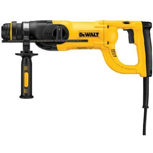 DEWALT D25263 D-Handle SDS Rotary Hammer with Shocks, 1-1/8""