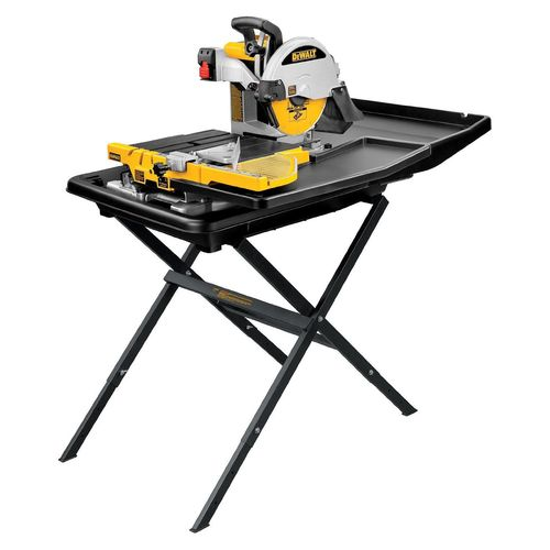 DEWALT D24000 1.5-Horsepower 10-Inch Wet Tile Saw with Stand