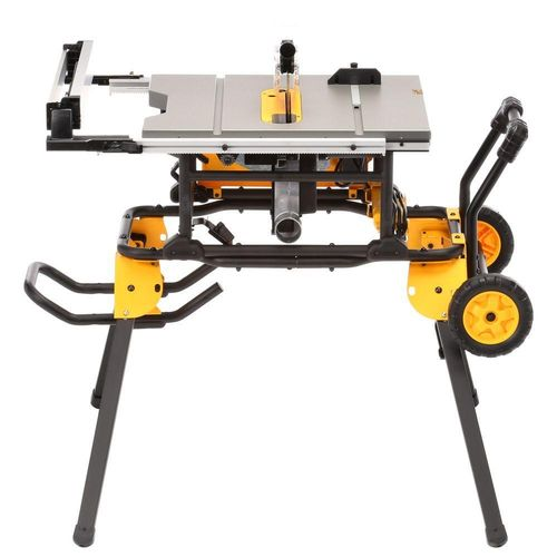 DEWALT DWE7491RS 15 Amp 10 in. Job Site Table Saw with Rolling Stand