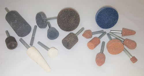 Mounted Grinding Stones - Various Shapes