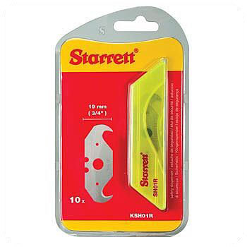 Starrett Utility Knife Hook Blade Dispenser (10 Pack)