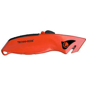 TECHNI-EDGE Front Loading Utility Knife