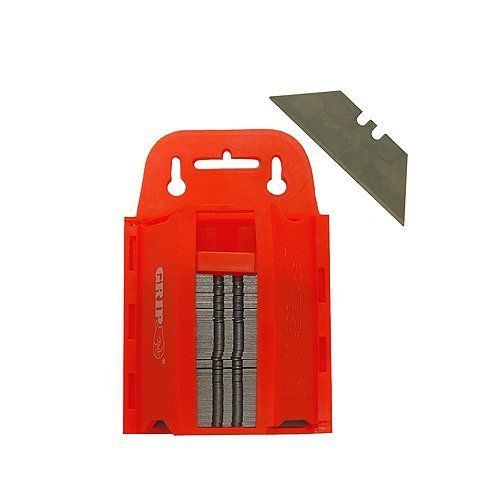 GRIP 100 Pc Utility Knife Blade with Dispenser