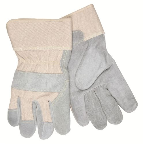 "MEMPHIS Sidekick Leather Gloves w/ 2.5"" Safety Cuffs"