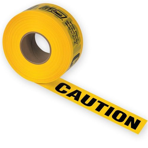"""CAUTION"" Tape, 3"" x 1000'"
