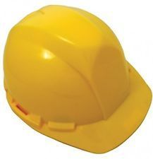 SAS Hard Hat 6-Point Ratchet Yellow