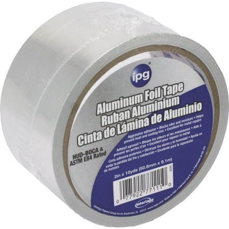 "IPG Aluminum Foil Tape, 2"" x 10 yards"