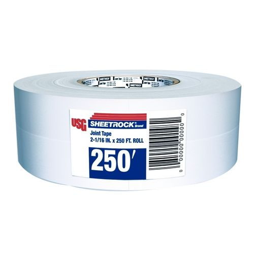 "USG Sheetrock Paper Joint Tape, 2-1/16"" x 250'"