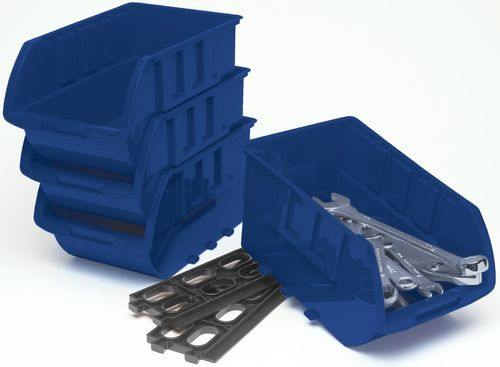 PERFORMANCE TOOL Stackable Tray Set, Qty 4, Large