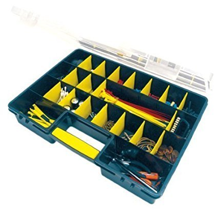 PERFORMANCE TOOL 26 Compartment Portable Organizer