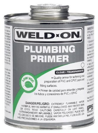WELD-ON Plumbing Primer, 8 oz