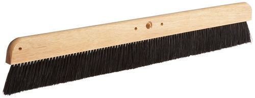 "MAGNOLIA BRUSH 36"" Cement Finisher, Black Polypropylene Bristles"