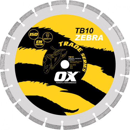 "OX 16"" Segmented Abrasive/General Purpose Diamond Blade"