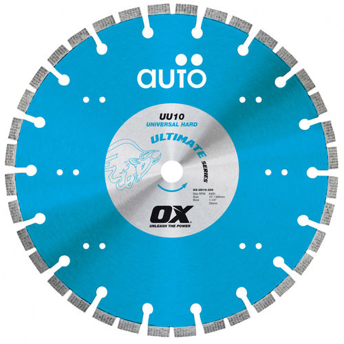 "OX 14"" Ultimate Auto Technology Diamond Blade - Universal/Hard"