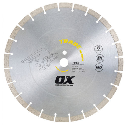 "OX 14"" Trade General Purpose/Concrete Blade"